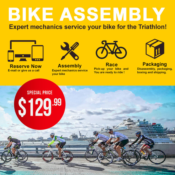 Bike Assembly Service for Ironman 70 3