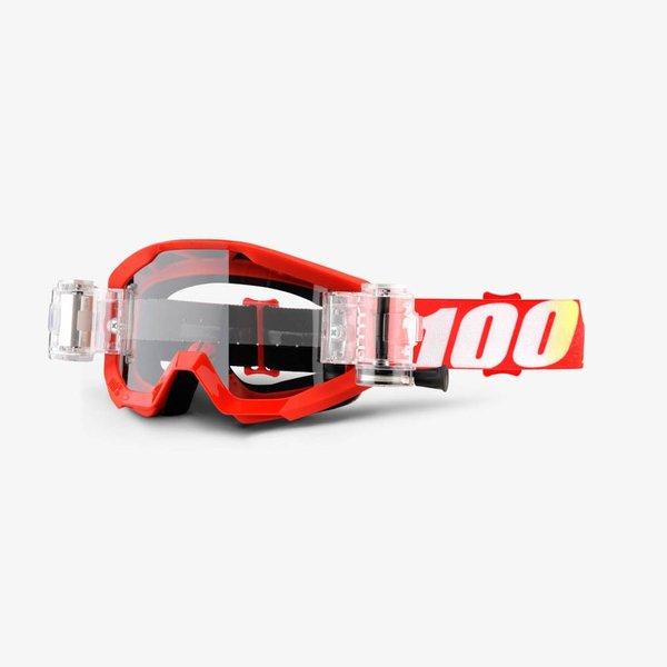 100% STRATA MUD Goggles