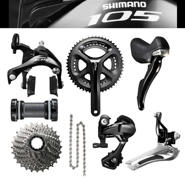 5830150bf27 Shimano 105 5800 Groupset - Cycle World Miami, Florida