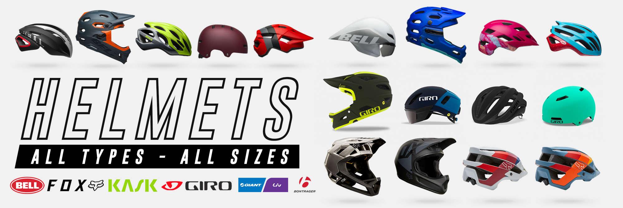 Bike-Helmet-Bell-Giro-Fox-Bontrager-Kask-Oakley