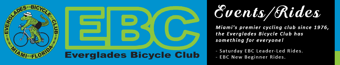 Everglades Bicycle Club, Miami, Florida, Events
