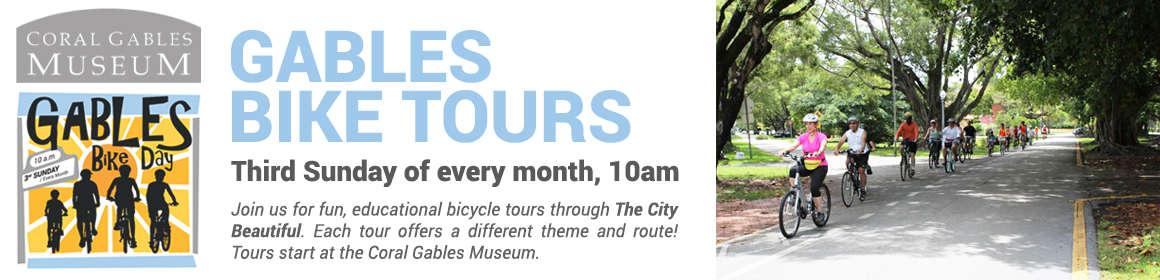 Coral Gables Bike Tours, in Miami Florida