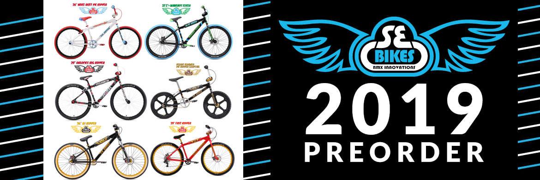 SE Bikes, DBlocks Big Ripper, Mike Buff, Beastmode, PK Ripper, Fast Ripper, Dirt Jumper, Maniacc Flyer