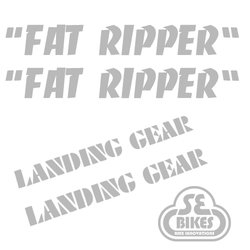 Reflx Reflective Decals SE Bikes Fat Ripper