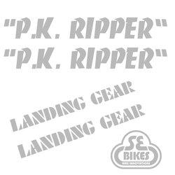 Reflx Reflective Decals SE Bikes P.K. Ripper