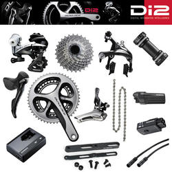 Shimano Dura-Ace Di2 Groupset + Cables, Battery, Charger