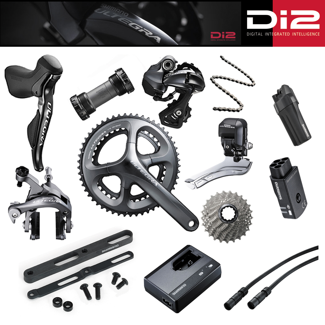 Ultegra Di2 Groupset + Cables, Battery, Charger