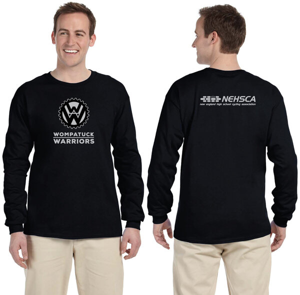 Wompatuck Warriors Long Sleeve T-shirt / PRE-ORDER ONLY