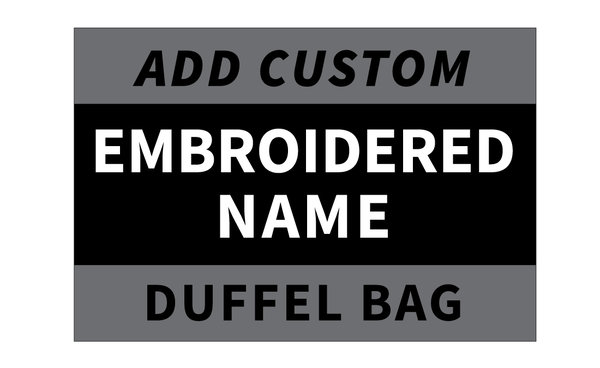 Wompatuck Warriors Embroidered Name on Bag / PRE-ORDER ONLY