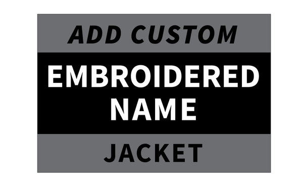 Wompatuck Warriors Embroidered Name on Jacket / PRE-ORDER ONLY