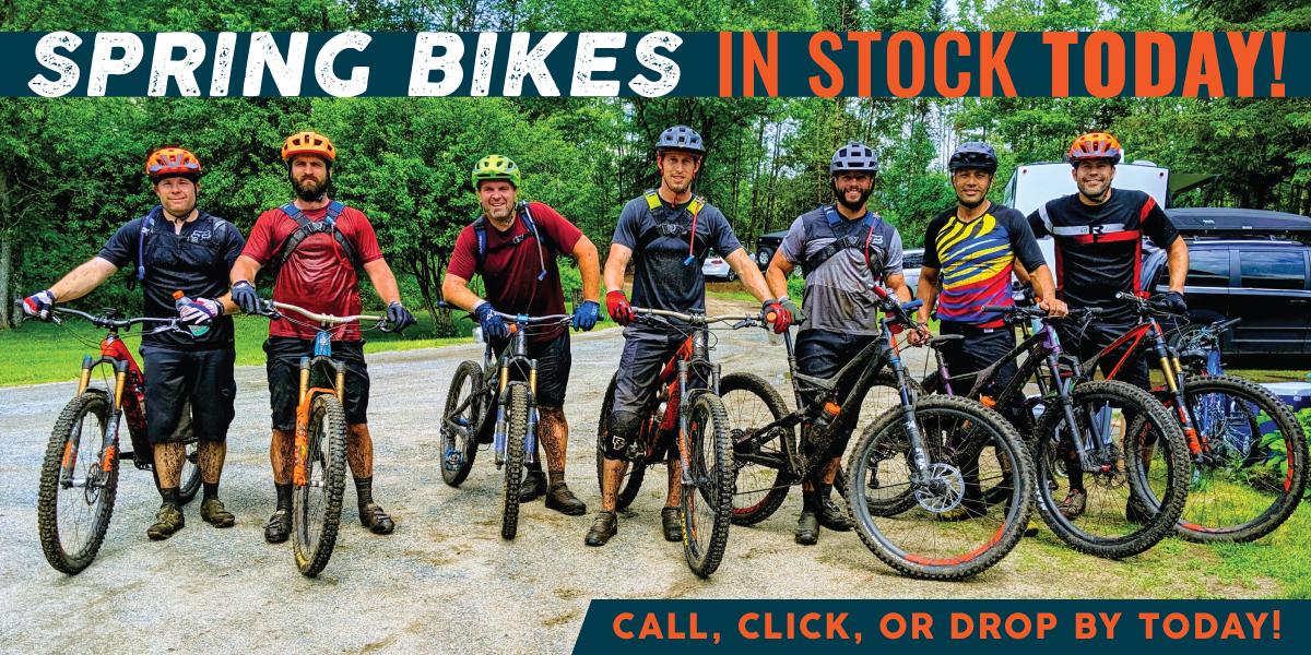 Spring Bikes In Stock Today at Bikebarn