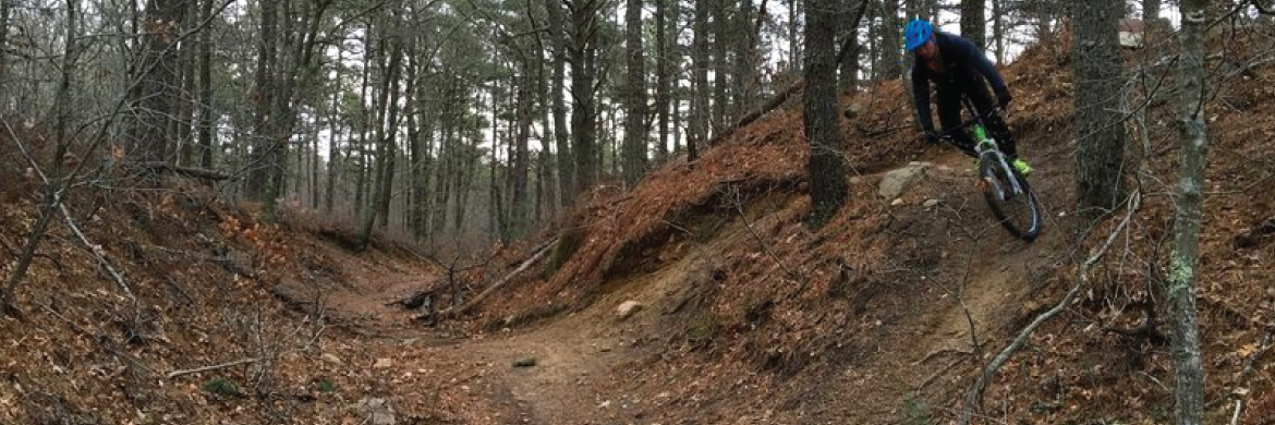 Mountain Biking & MTB Trails: Otis / Bourne / Falmouth