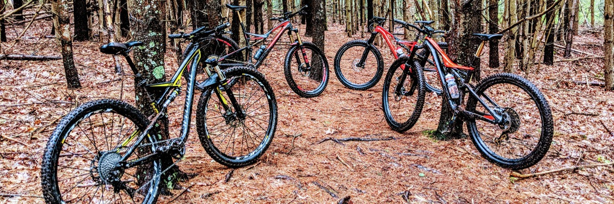 MTB Trails on Boston South Shore and New England
