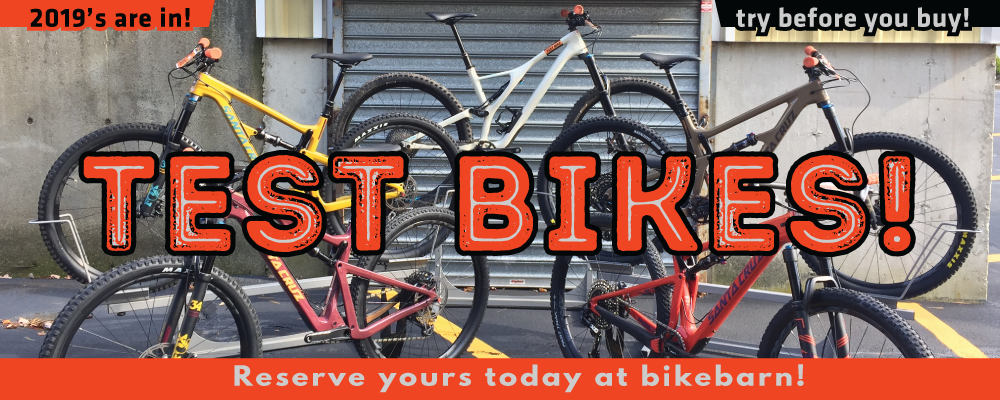 bikebarn test bikes