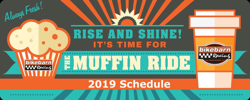 Muffin Ride 2019 Bikebarn, Whitman MA