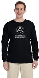 Wompatuck Warriors Long Sleeve T-shirt / PRE-ORDER ONLY