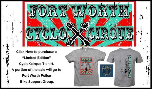 Bicycles, Inc. Bicycles Inc CycloXCirque T-shirt