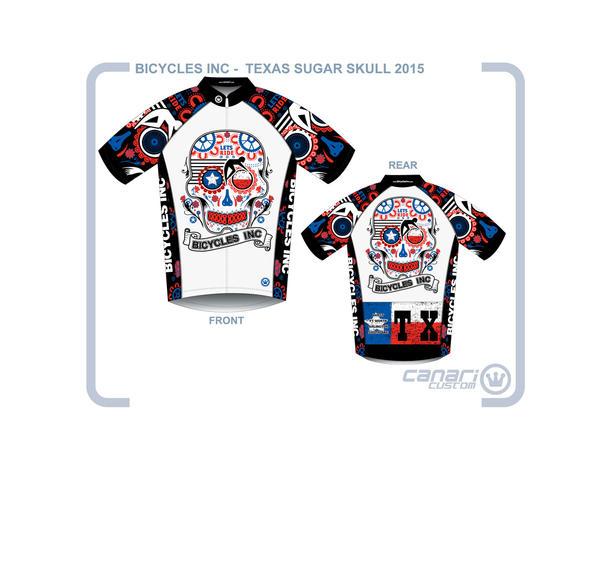 Bicycles, Inc. Bicycles Inc - Texas Sugar Skull Jersey