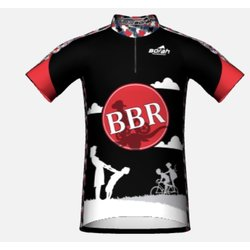 Bicycles, Inc. BBR Cycling Jersey with Zipper