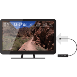 Vision Fitness Passport Media Player With Virtual Active