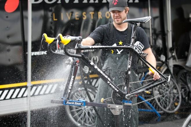Plenty of suds a clean bike make!