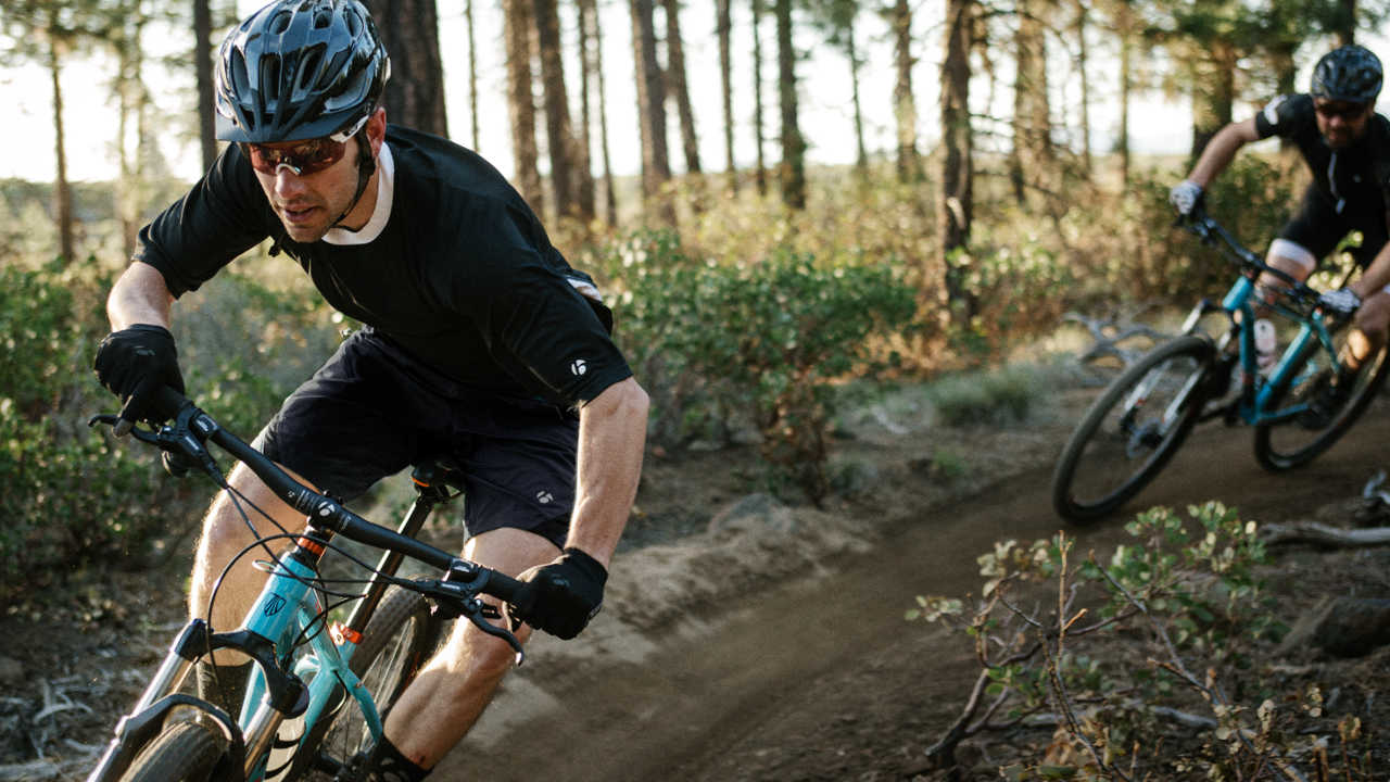 Front suspension mountain bikes are also called hardtails.