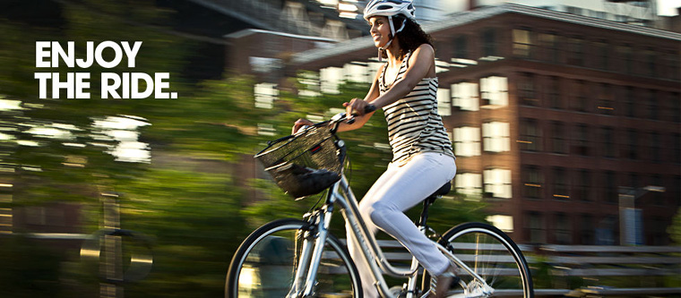 Hey! It's easy to feel great on every bike ride. Just follow our tips!