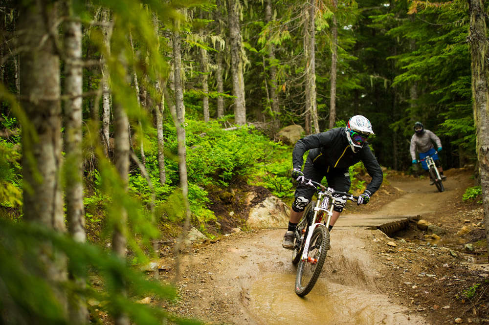 Mountain biking with friends is a great way to spend the day!