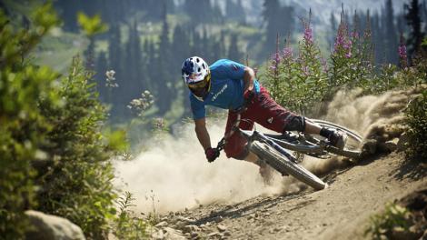 Full suspension bikes excel in rough terrain!