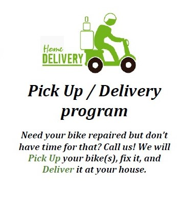 bicycle pick up and delivery service