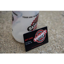 Summit City Bicycles and Fitness Gift Card