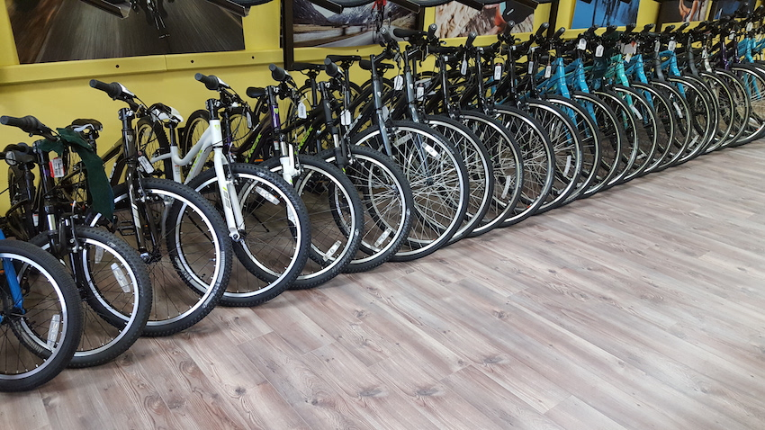 Bikes at Griffin Cycle