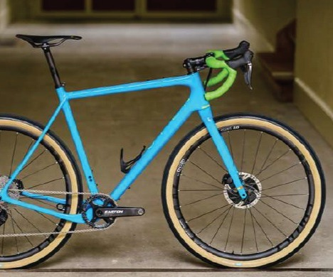 The New U.P. (Unbeaten Path) with OPEN U-Turn fork and flat-mount disc brakes
