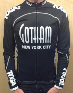 Toga Gotham Primo Euro Team Jersey LS Black