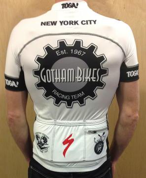 Toga Gotham Primo Euro Team Jersey SS-White