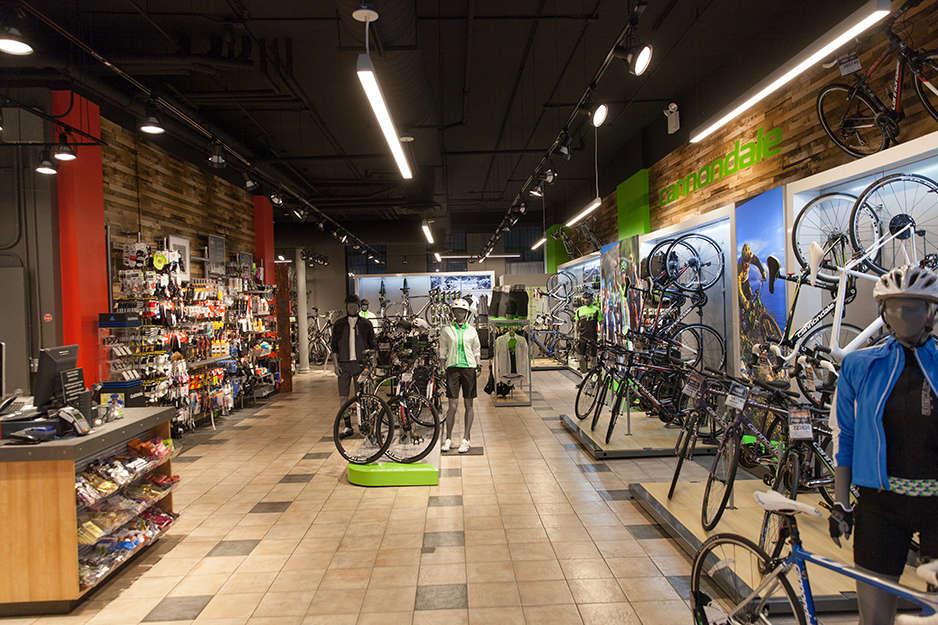 Toga Bike Shop showroom