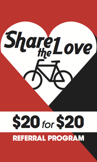 Share The Love - $20 for $20 Program