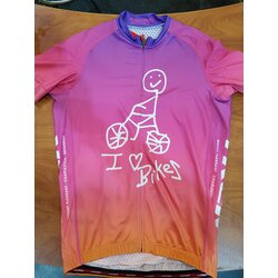Trek Mount Pleasant I Love Bikes Men's Jersey