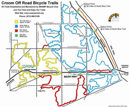 CROOM OFF-ROAD MAP - Oliver\'s Cycle Sports - Tampa, FL - Bicycle ...