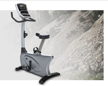 Vision Fitness U20 Elegant Upright Bike