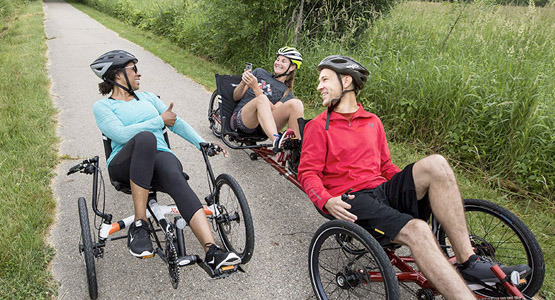 Advantages of recumbent trikes