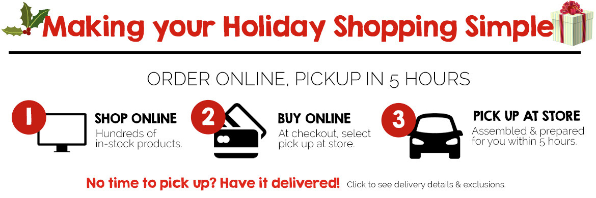 Holiday Shopping made easy at Russell's