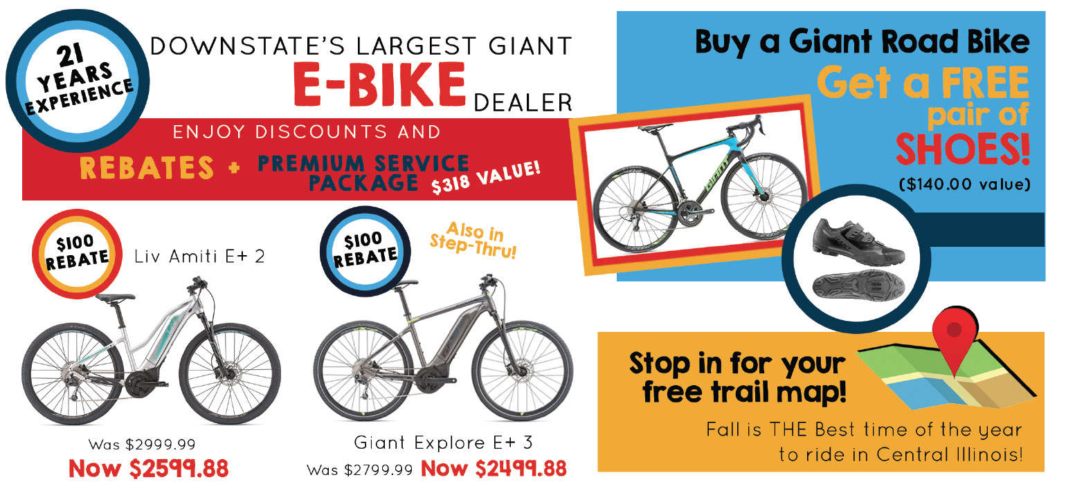 Bike Discounts at Russell's Cycling & Fitness