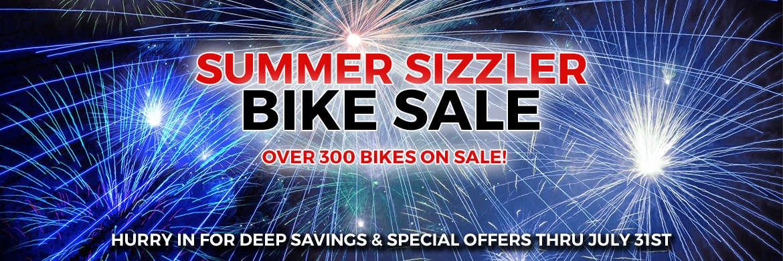 Summer Sizzler Bike Sale