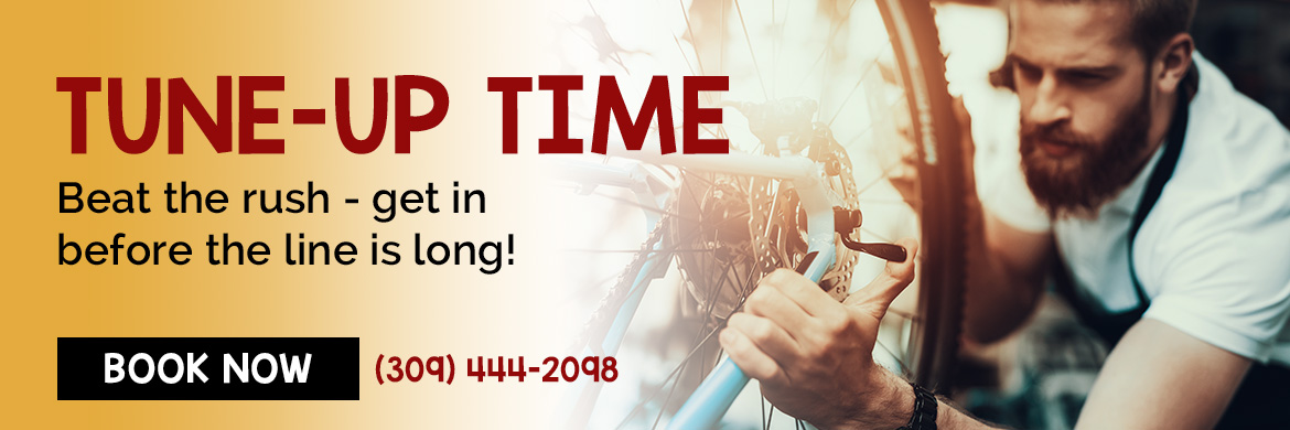 Tune-ups at Russell's Cycling & Fitness