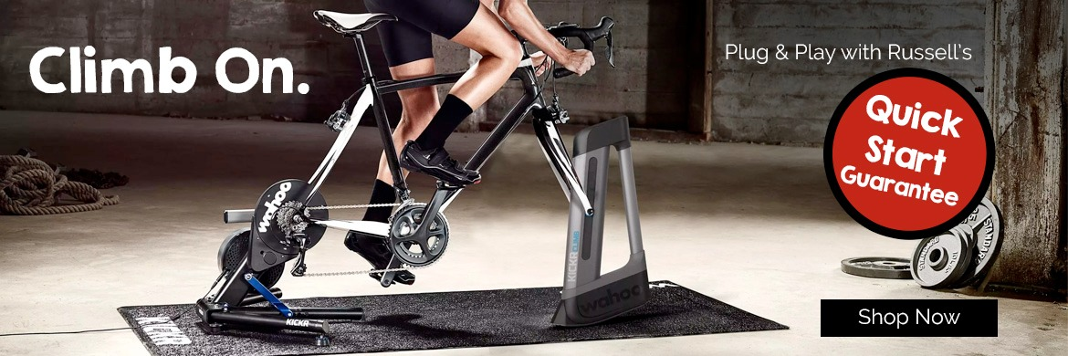 Wahoo Trainers at Russell's Cycling & Fitness