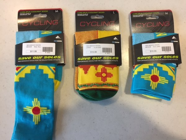 ShaverSports New Mexico Cycling Socks