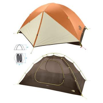 North Face Rock 22 Tent 2 person tent