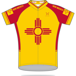 ShaverSports New Mexico Yellow Cycling Jersey