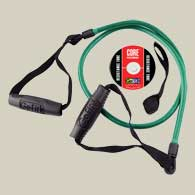 GoFit Ultimate 4ft PowerTube with Training DVD - Green/15lb